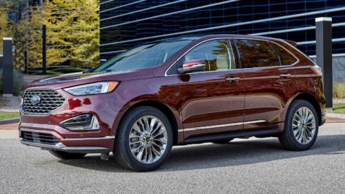 2021 Ford Edge Arrives With Standard 12-Inch Infotainment Screen