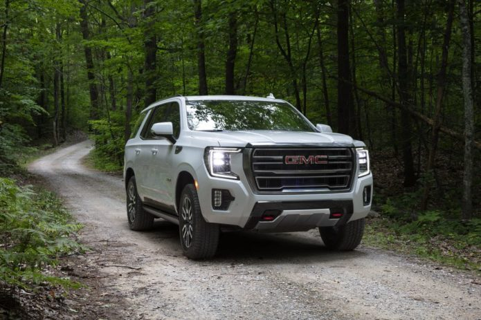 The GMC Yukon AT4 Brings More Off-Road Chops to a Mega-SUV