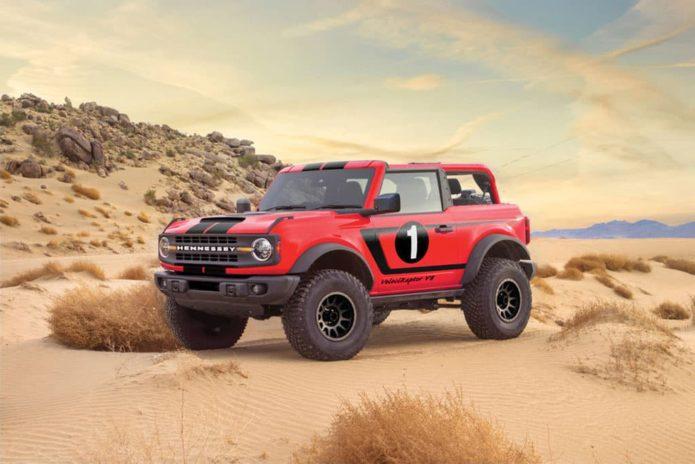 Hennessey reveals 560kW VelociRaptor V8 Bronco