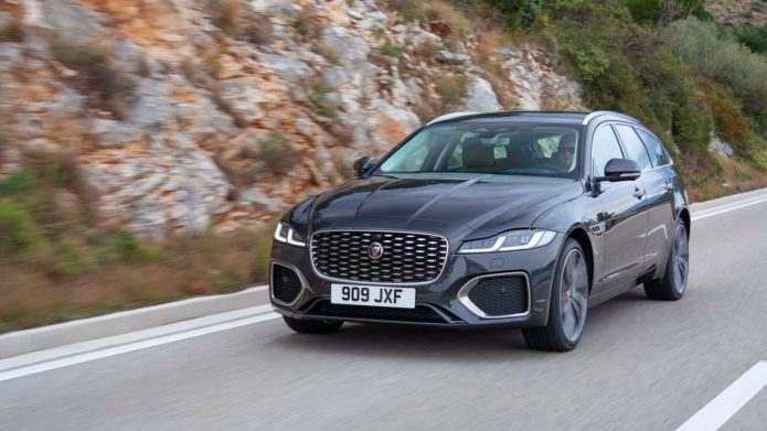 2021 Jaguar XF Sportbrake Debuts, But The Wagon Is Dead In The US