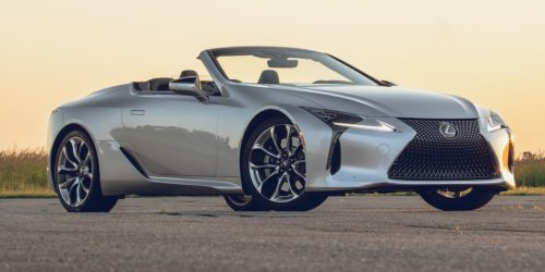 Lexus LC500 Convertible review