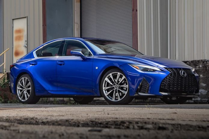 String of firsts for new Lexus IS