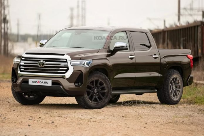 New Toyota Tundra takes shape