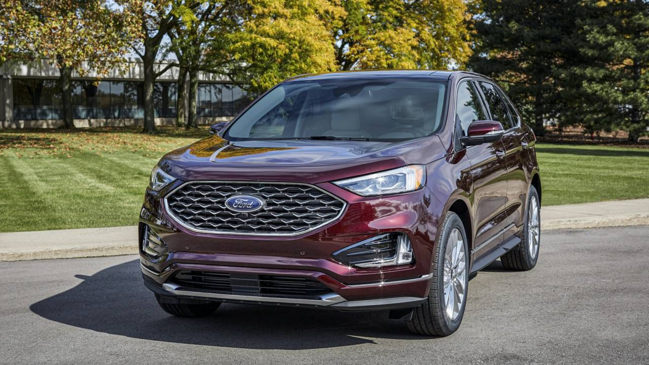 2021 Ford Edge follows Mustang Mach-E with a huge dash tech upgrade