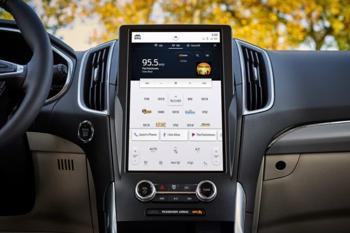 Ford Endura scores big 12-inch touch-screen – overseas
