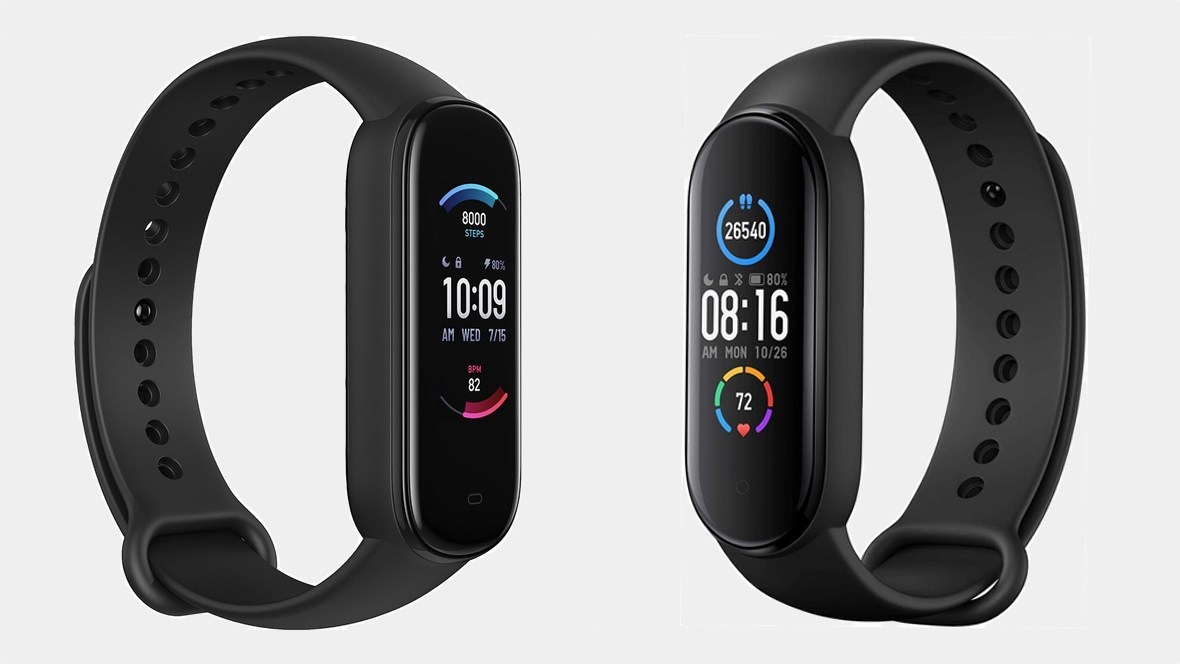 Xiaomi Mi Band 5 v Amazfit Band 5: There's only one winner
