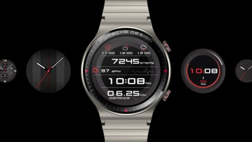 Huawei Watch GT 2 Porsche Design smartwatch revs up