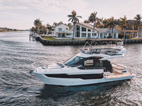 Galeon 400 Fly review: This fold-out flybridge is more than a one-trick pony