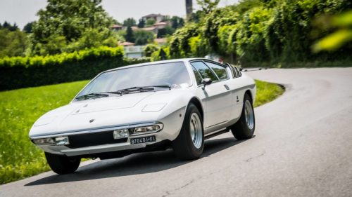 The Lamborghini Urraco turns 50 this year