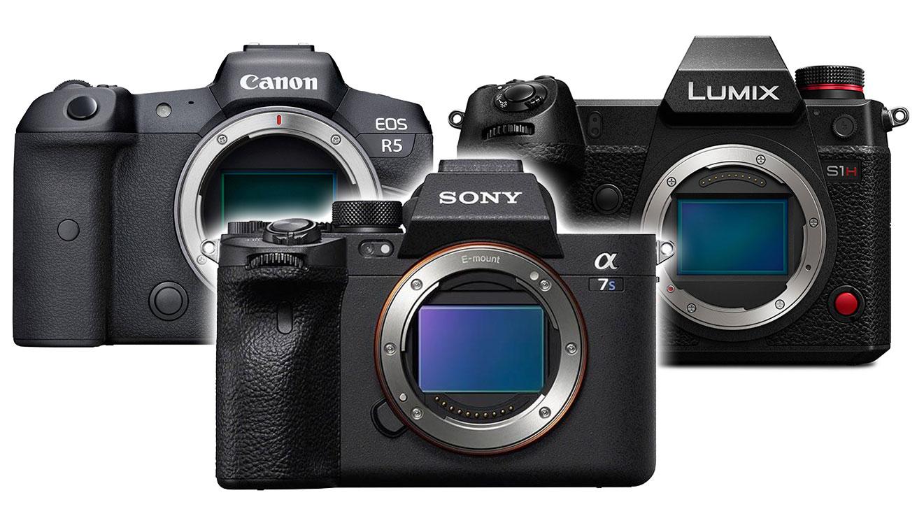 Canon EOS R5 vs. Sony A7S III vs. Panasonic S1H: Best full-frame for video?