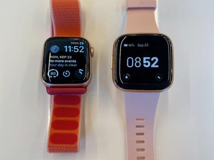 Fitbit Versa 2 vs. Apple Watch Series 5