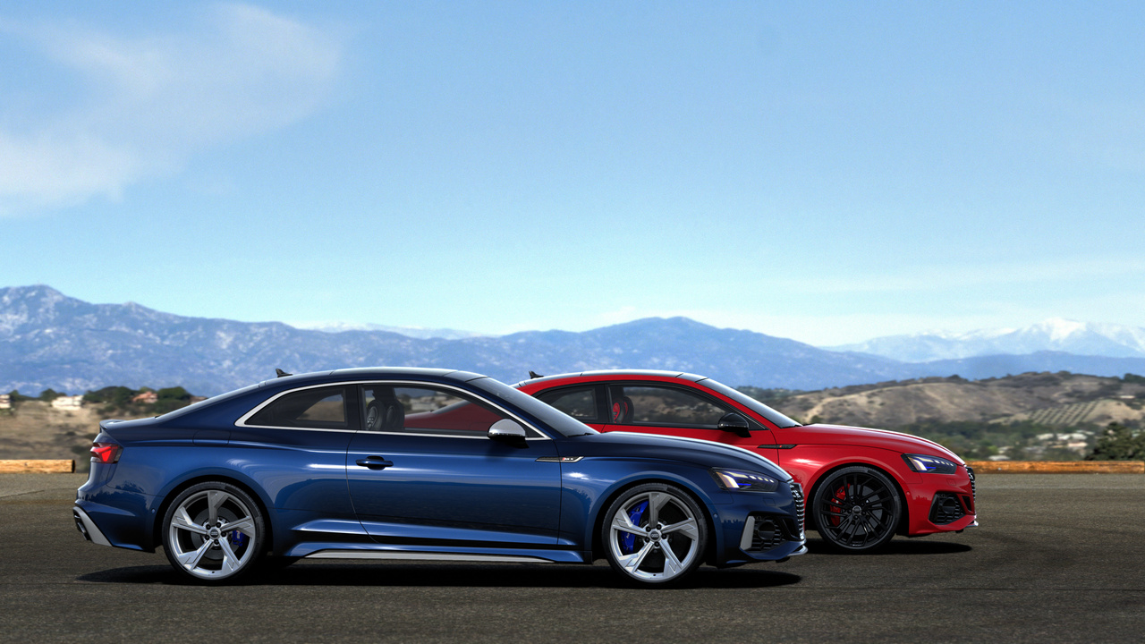 2021 Audi RS5 Coupe and Sportback: Revised design and new technology
