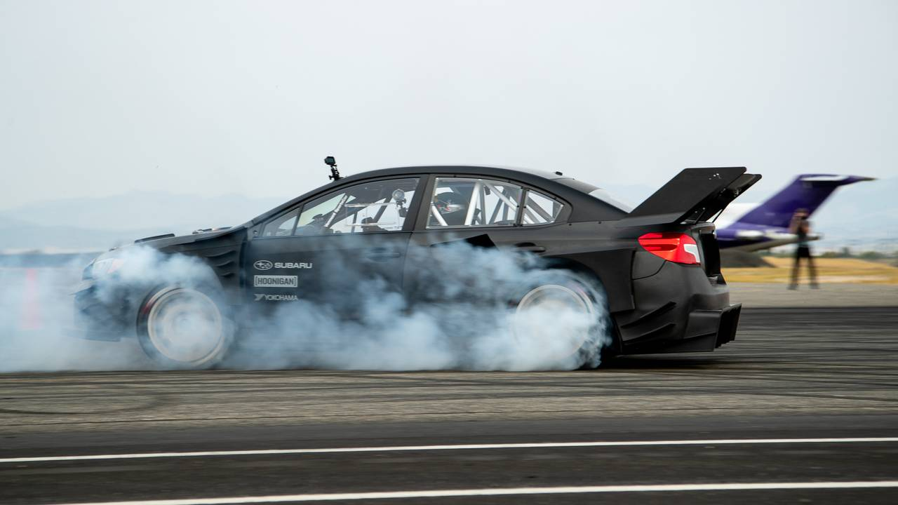 Travis Pastrana's Subaru Impreza WRX STI is taking hooliganism to the next level