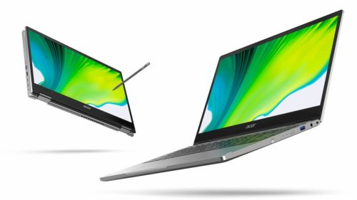 Swift 3X and Spin 5 head up Acer's refreshed notebook line