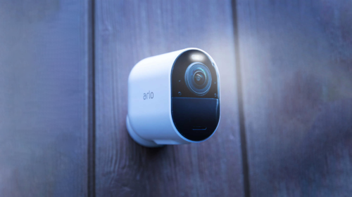 The new Arlo Ultra 2 security camera can record 4K footage for six months straight