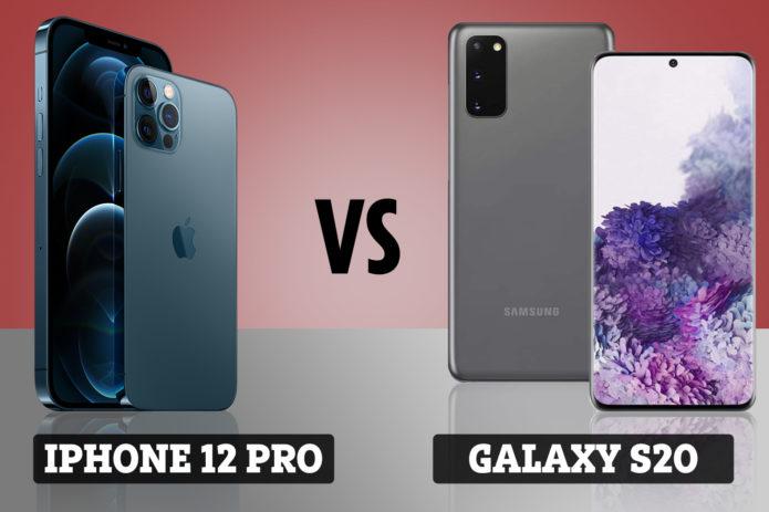 iPhone 12 Pro vs Samsung Galaxy S20