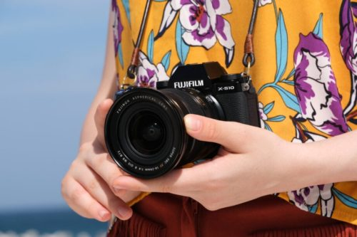 The Fujifilm X-S10 is a lightweight, mirrorless camera aimed at eliminating shake