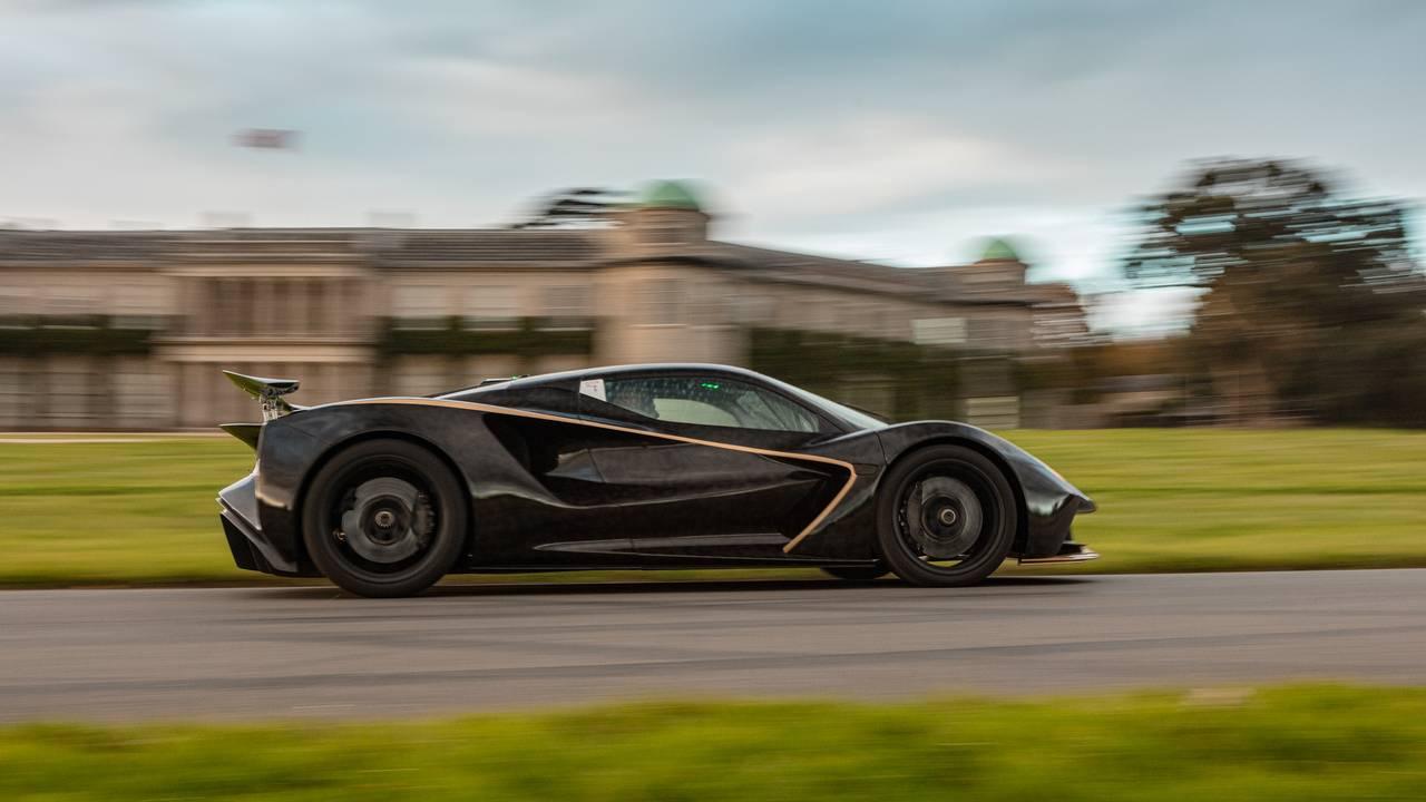 Lotus Evija hyper EV debuts at Goodwood, and it sounds phenomenal