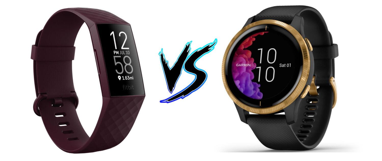 Fitbit Charge 4 vs Garmin Venu