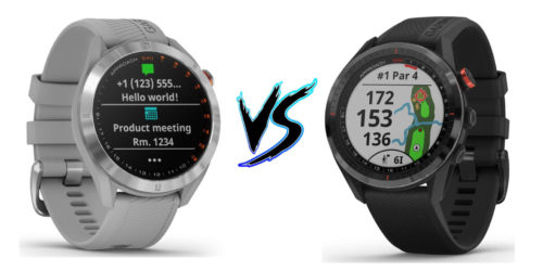 Garmin Approach S40 vs Garmin Approach S62