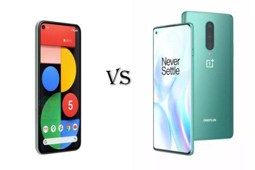 Google Pixel 5 vs. OnePlus 8: Can the flagship killer strike again?