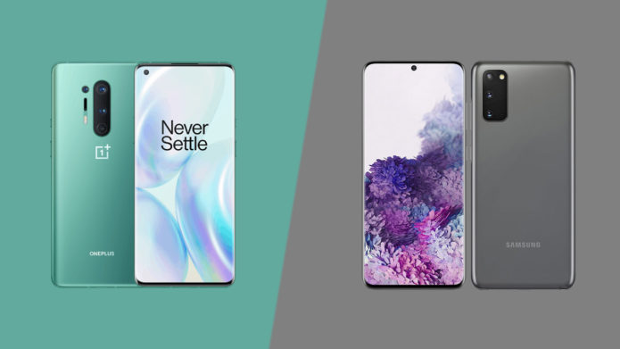 OnePlus 8 Pro vs Samsung Galaxy S20: classy 120Hz flagships face off