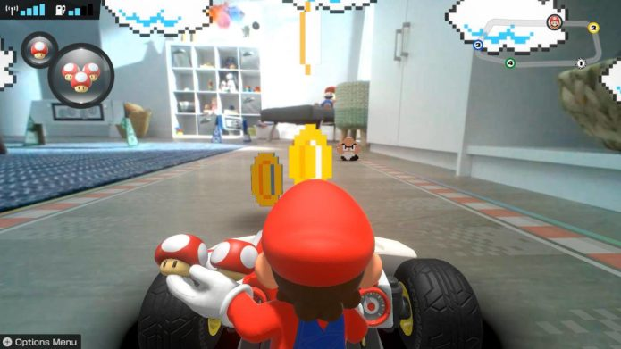 Mario Kart Live: Home Circuit trailer explains how the AR game works