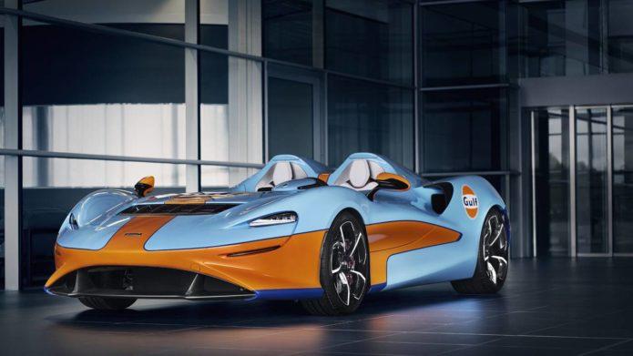 McLaren Elva Gulf Theme to debut at Goodwood