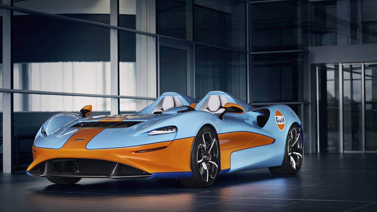 McLaren Elva Gulf Theme to debut at Goodwood