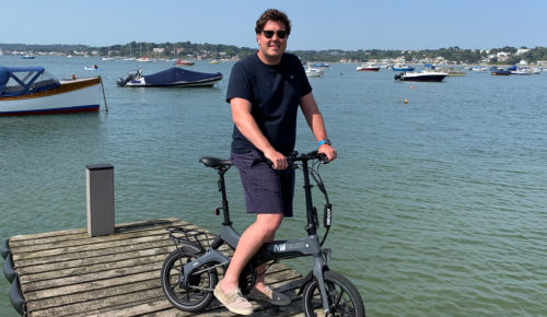 MiRider One folding e-bike review: Your new best friend for exploring ashore?