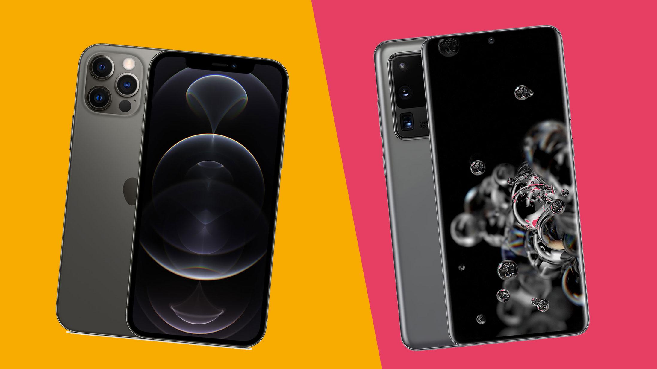 iPhone 12 Pro Max vs Samsung Galaxy S20 Ultra: the ultimate smartphone showdown
