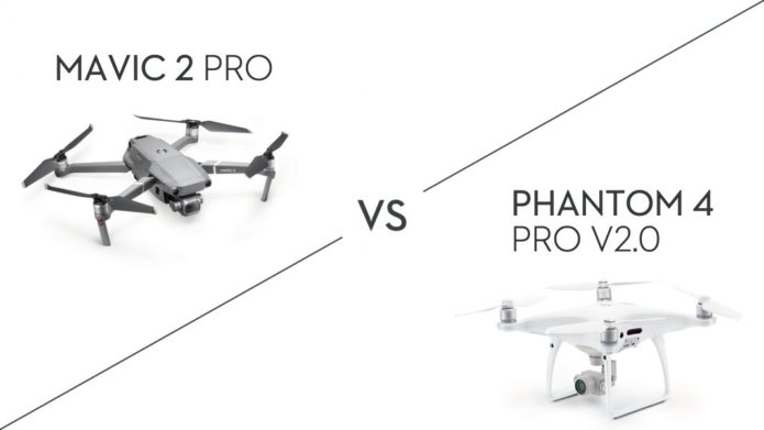 DJI Mavic 2 Pro vs Phantom 4 Pro V2.0: which is the best drone for you?