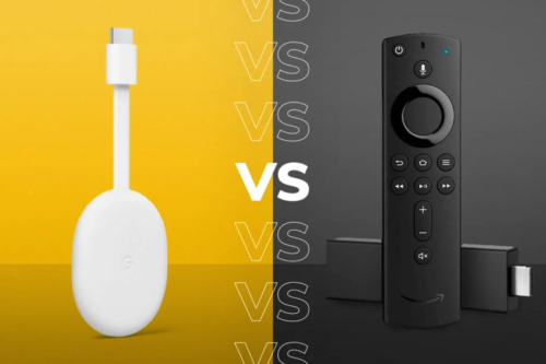 Chromecast with Google TV vs Fire TV Stick: They have a lot in common