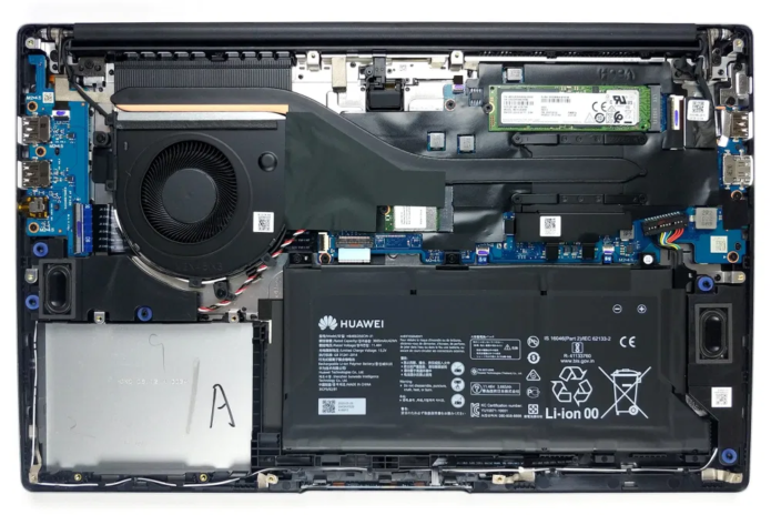Inside Huawei MateBook D 15 (2020) – disassembly and upgrade options