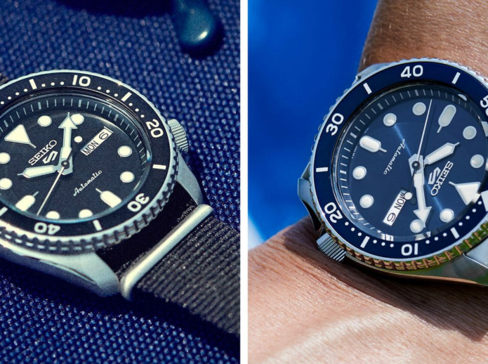 The New Seiko 5 Sports Will Up Your Everyday Style