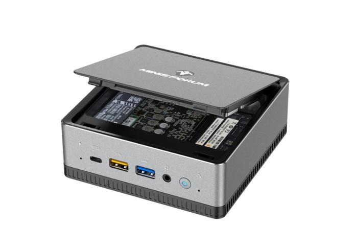 MINISFORUM DeskMini DMAF5: Mini-PC with an AMD Ryzen 5 3550H processor is now shipping