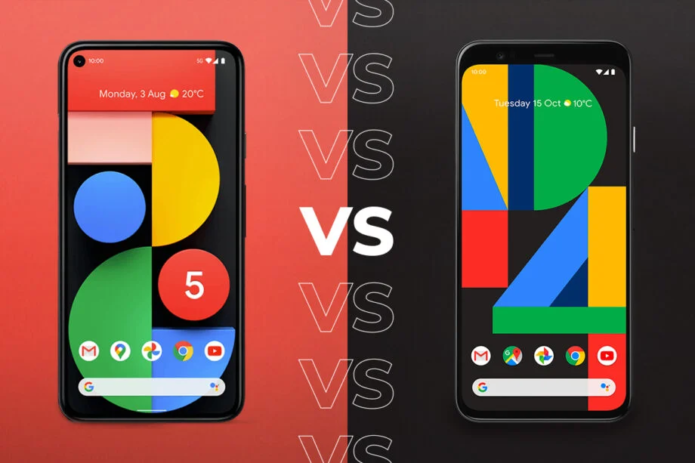 Google Pixel 5 vs Pixel 4: What's changed in a year?