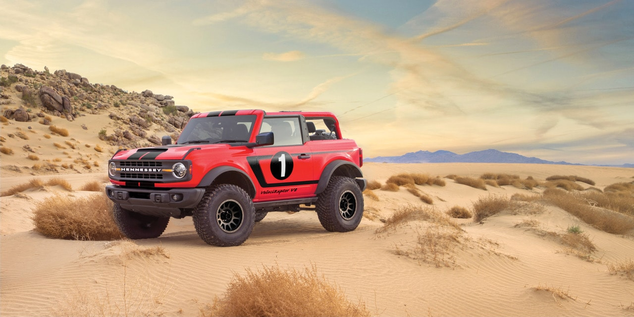 Hennessey has created a $225k Ford Bronco with a 758HP V8 engine