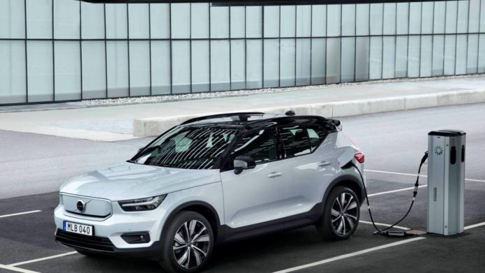 2021 Volvo XC40 Recharge gets a price and a charging network