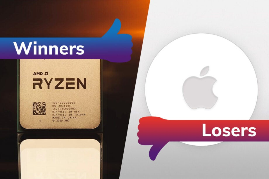 Winners and losers: AMD reveals champion chip, and Apple delays device