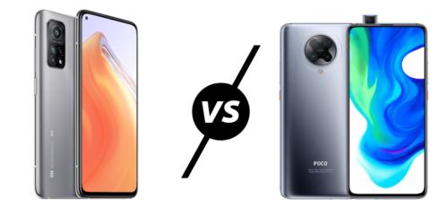 Xiaomi Mi 10T vs Poco F2 Pro Compared