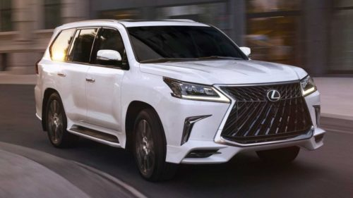 2021 Lexus LX Review