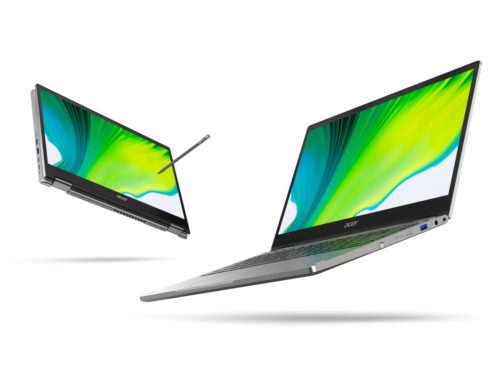 Acer announces the Spin 5 — a 2-in-1 that boasts up to 15 hours of battery life