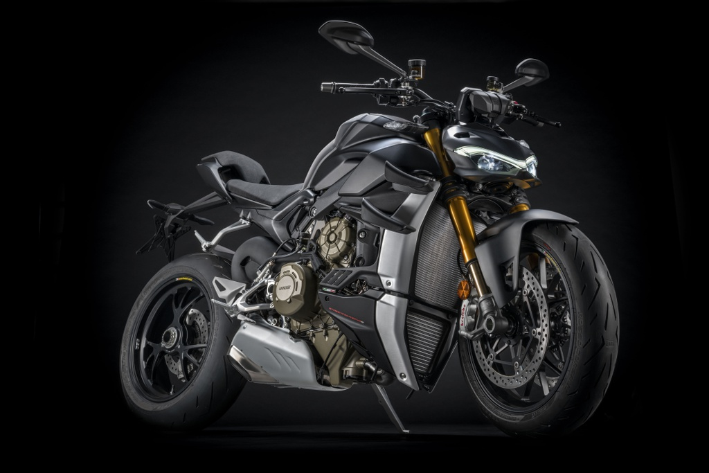 2021 Ducati Streetfighter V4 Gets Euro 5 Update And Dark Stealth Color