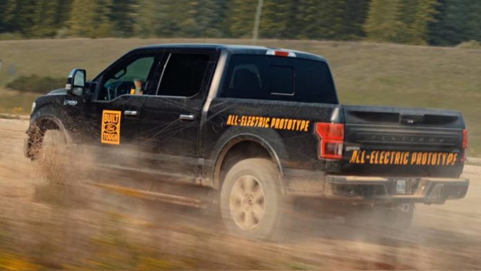 Ford patents the genius fix for all-electric F-150 range anxiety