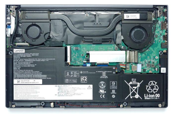 Inside Lenovo Yoga Slim 7 (15) – disassembly and upgrade options