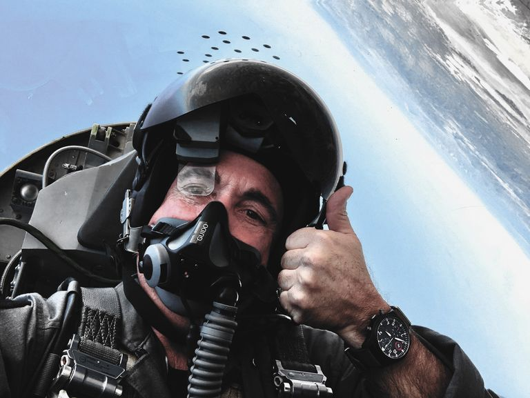 If You Can't Fly Fighter Jets, At Least Wear This Watch