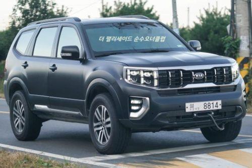 SPY PICS: Kia's LandCruiser Prado rival spotted
