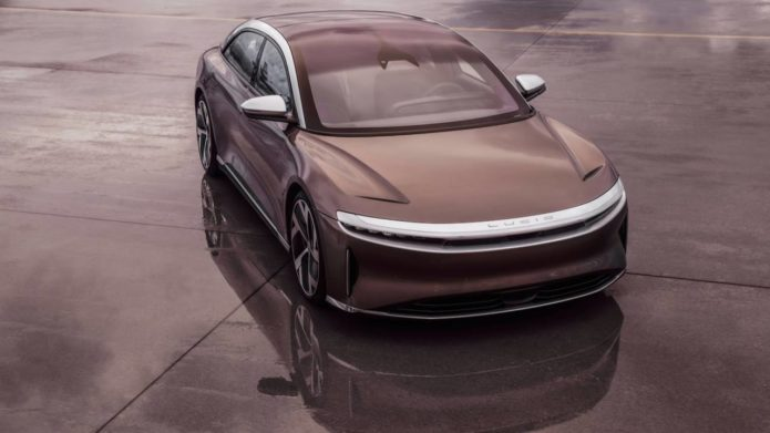 Lucid Motors prices its most affordable Air luxury EV