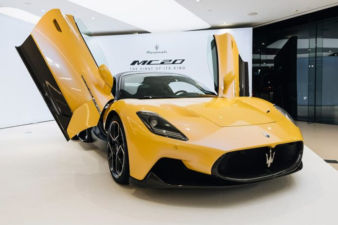 Maserati MC20 makes Aussie debut